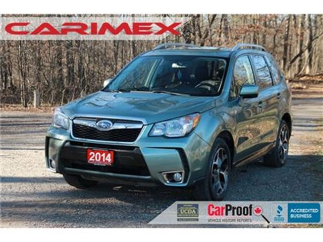 2014 SUBARU FORESTER 2.0XT Touring AWD   Bluetooth   Sunroof   Heated S in Kitchener, Ontario