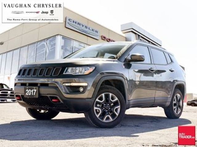 2017 jeep compass trailhawk leather navigation 4x4 woodbridge ontario car for sale 2935175. Black Bedroom Furniture Sets. Home Design Ideas