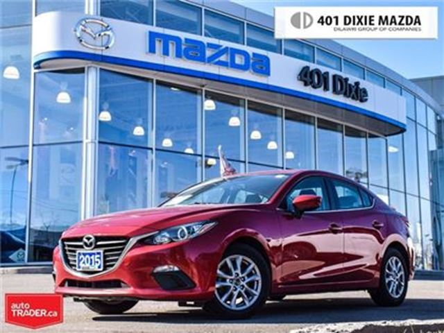 2015 MAZDA MAZDA3 GS,LOW FINANCE RATES, NO ACCIDENTS in Mississauga, Ontario