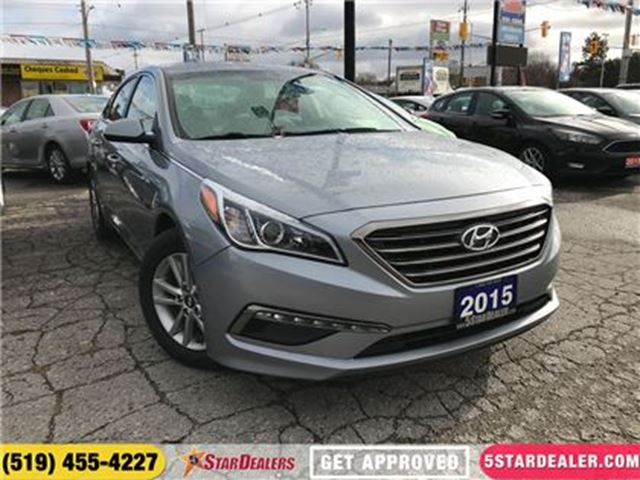 2015 HYUNDAI SONATA GL   CAM   HEATED SEATS   BLUETOOTH in London, Ontario