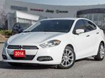 2014 Dodge Dart Limited, LEATHER, NAVI, BACK UP CAM in Mississauga, Ontario