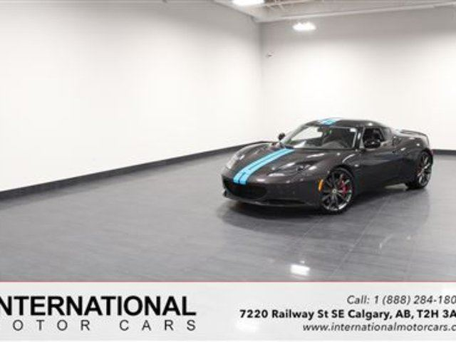 2013 LOTUS EVORA S SUPERCHARGED! *MINT* in Calgary, Alberta