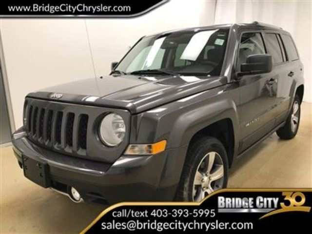 2017 JEEP PATRIOT High Altitude- Loaded Up!! in Lethbridge, Alberta