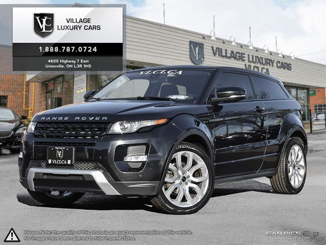 2012 LAND ROVER RANGE ROVER EVOQUE Pure Plus CLIMATE PACKAGE | SAT RADIO | DYNAMIC PACKAGE in Markham, Ontario