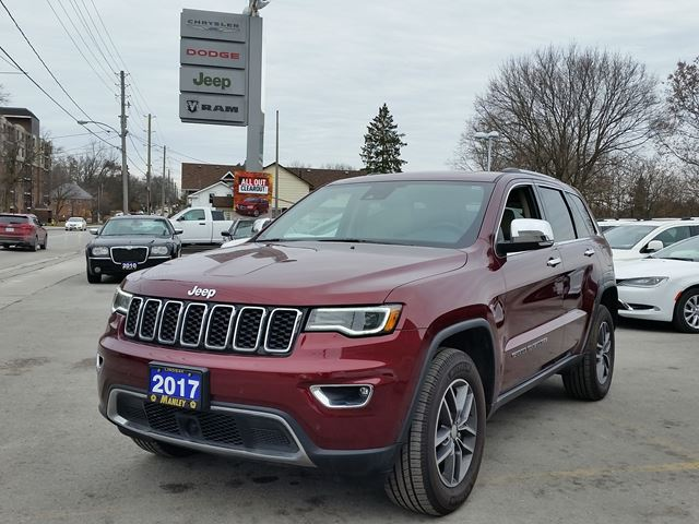 2017 Jeep Grand Cherokee Limited in Lindsay, Ontario