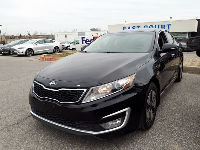 2012 KIA OPTIMA Hybrid, Sedan, Heated Seats, Back Up Camera, Loaded in Scarborough, Ontario