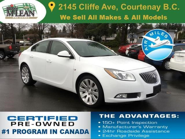 2011 BUICK REGAL           in Courtenay, British Columbia