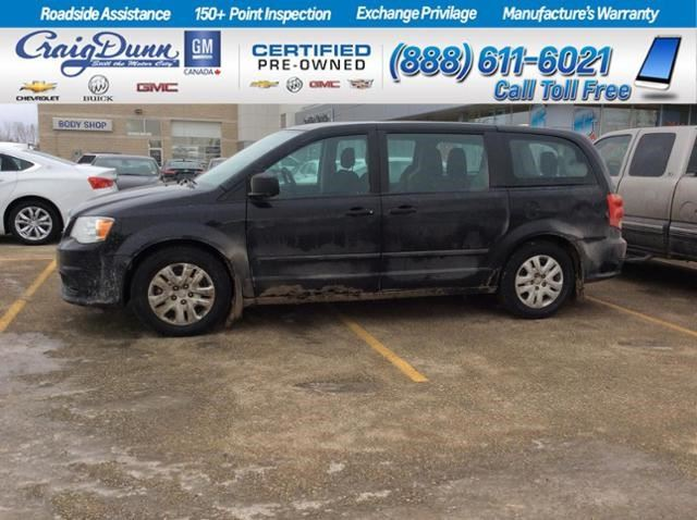 2016 Dodge Grand Caravan Canada Value Package in Portage La Prairie, Manitoba