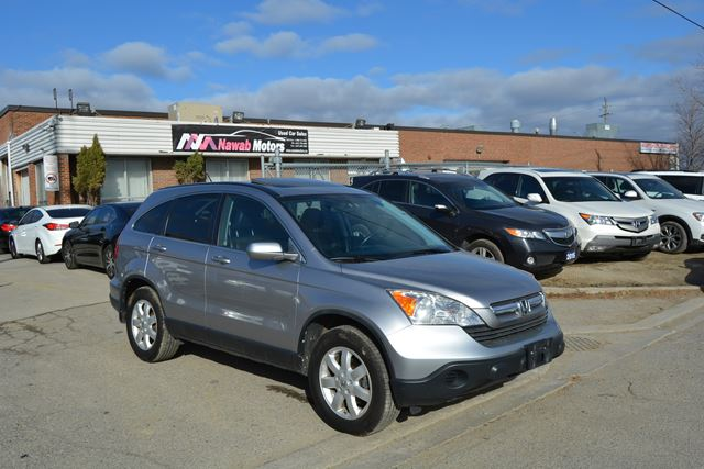 2007 honda cr v ex l 4wd 4 cylinder leather sunroof no accidents silver for 9990 in brampton. Black Bedroom Furniture Sets. Home Design Ideas