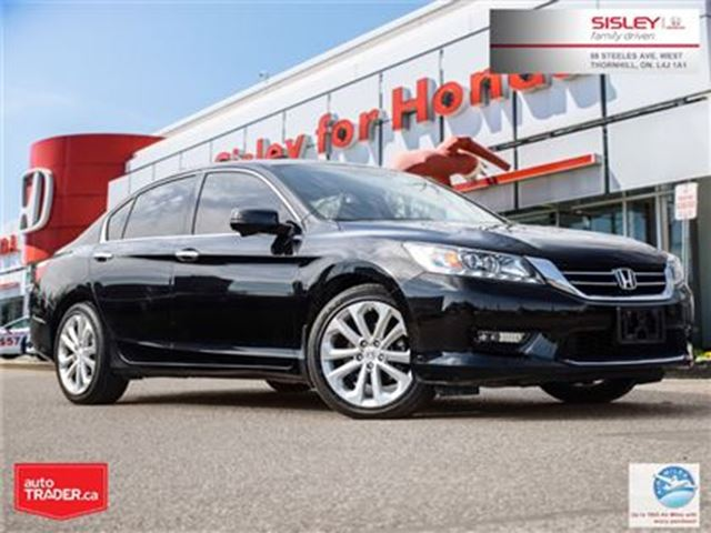 2014 HONDA Accord Touring V6 - Ontario Vehicle, No Accident in Thornhill, Ontario