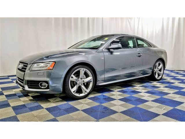 2012 AUDI A5 Sline AWD/ACCIDENT FREE/HTD SEATS/SUNROOF in Winnipeg, Manitoba