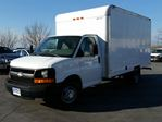 2009 Chevrolet Express Commercial Cutaway 3500-14' CUBE/BOX TRUCK-REAR HEATER-P/W-P/L-CC in Belleville, Ontario