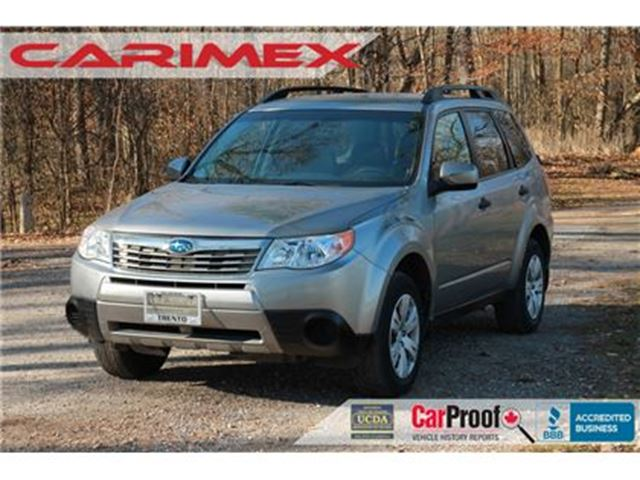 2010 SUBARU FORESTER 2.5 X ONLY 46K   WOW - CERTIFIED in Kitchener, Ontario