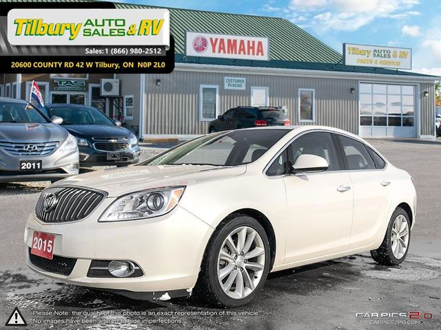 2015 BUICK VERANO REVERSE CAM. HEATED SEATS. BOSE SOUND. in Tilbury, Ontario