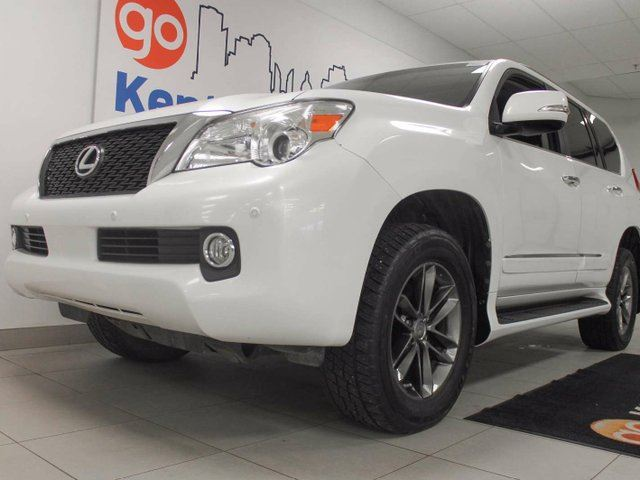 2013 LEXUS GX 460 Ultra Premium GX460 with NAV, sunroof, heated power leather seats, back up cam and so many fun buttons and switches in Edmonton, Alberta