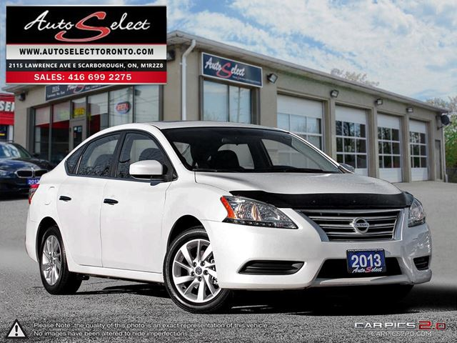 2013 NISSAN Sentra ONLY 33K! **SV MODEL**SUNROOF**BLUETOOTH**CLN CARP in Scarborough, Ontario