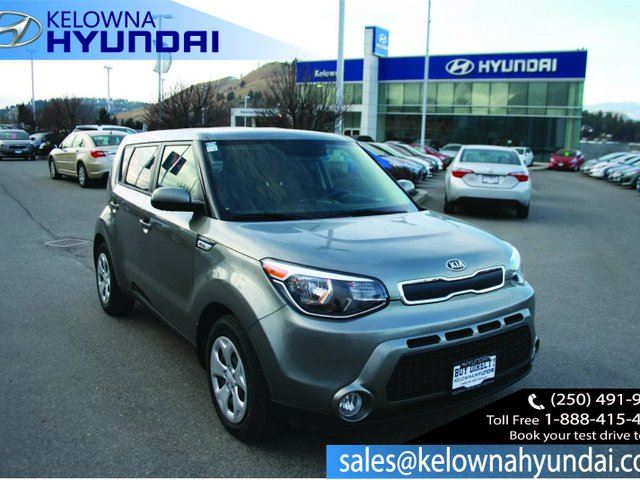 2016 KIA SOUL LX 4dr Hatchback in Kelowna, British Columbia
