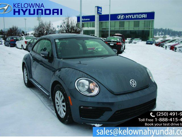 2017 VOLKSWAGEN NEW BEETLE  1.8 TSI Trendline 2dr Hatchback in Kelowna, British Columbia