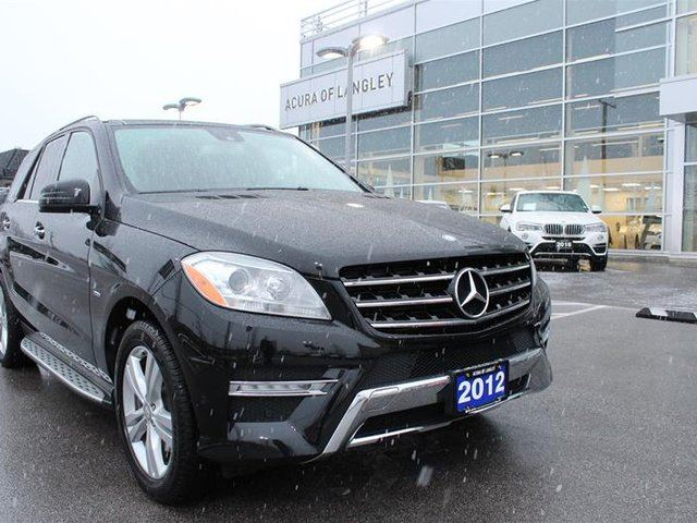 2012 MERCEDES-BENZ M-CLASS BlueTEC 4MATIC in Langley, British Columbia