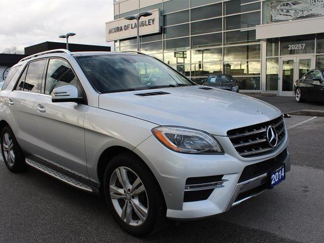 2014 MERCEDES-BENZ M-CLASS BlueTEC 4MATIC in Langley, British Columbia