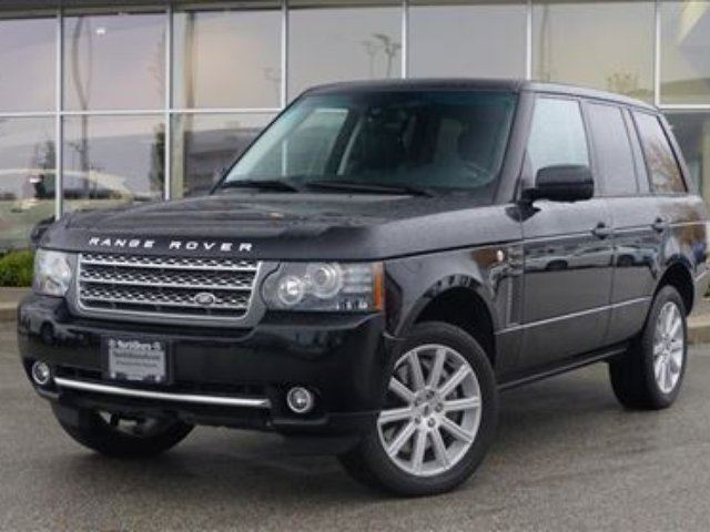 2010 LAND ROVER RANGE ROVER Supercharged (SC) in North Vancouver, British Columbia