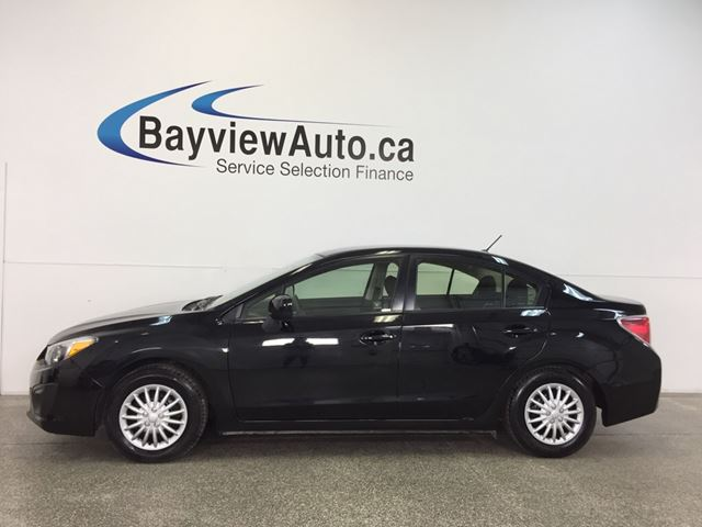 2013 SUBARU IMPREZA - 5 SPD|AWD|A/C|BLUETOOTH|CRUISE! in Belleville, Ontario