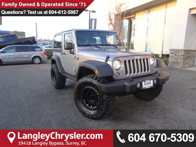 2014 JEEP Wrangler Sport *ACCIDENT FREE*ONE OWNER*LOCAL BC JEEP* in Surrey, British Columbia