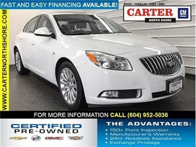 2011 BUICK REGAL CXL w/1SD in North Vancouver, British Columbia