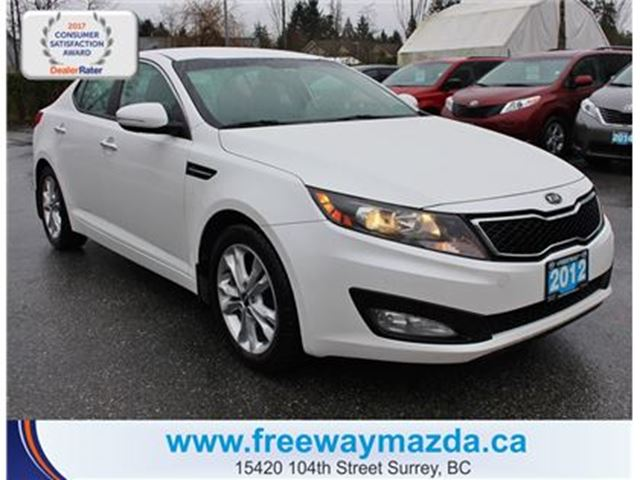 2012 KIA OPTIMA Turbo EX-CAMERA/HEATSEAT/BLUETOOTH in Surrey, British Columbia