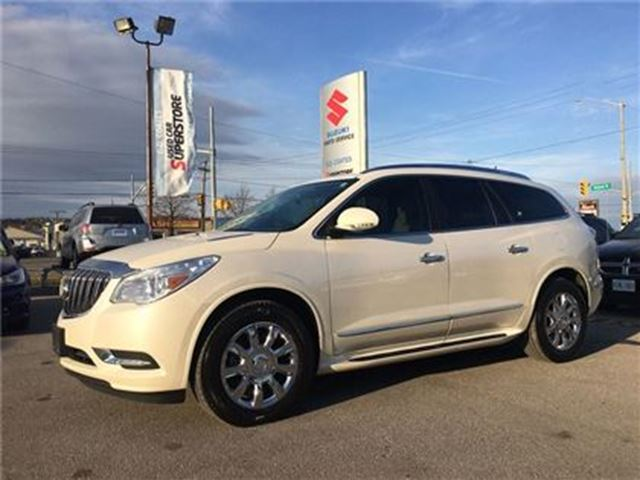 2014 BUICK ENCLAVE All-Wheel Drive ~RearView Camera ~Well Appointed in Barrie, Ontario