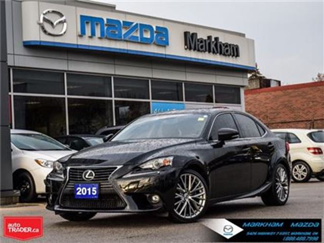 2015 Lexus IS 250 LEASE RETURN ACCIDENT FREE In Markham, Ontario