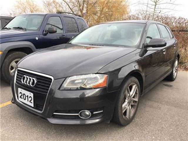 2012 AUDI A3 TDI Progressiv S Tronic - ACCIDENT FREE, LOW KMS in Markham, Ontario