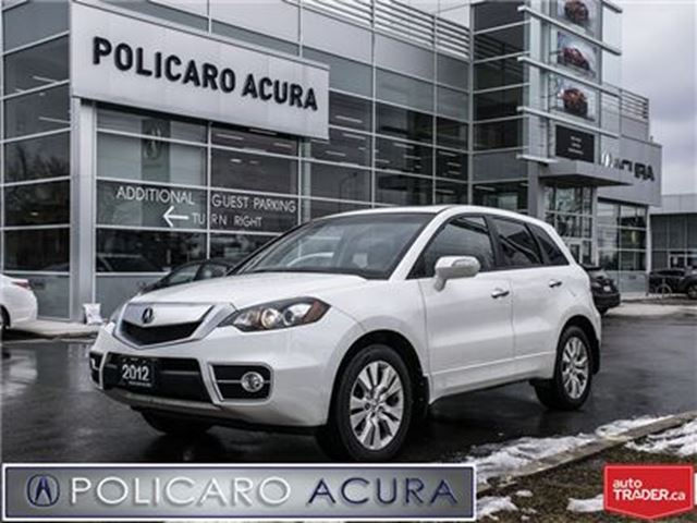 2012 ACURA RDX Tech Pkg 5sp at Technology Package, Leather Interi in Brampton, Ontario