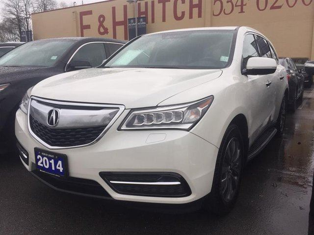 2014 ACURA MDX Tech at in Langley, British Columbia