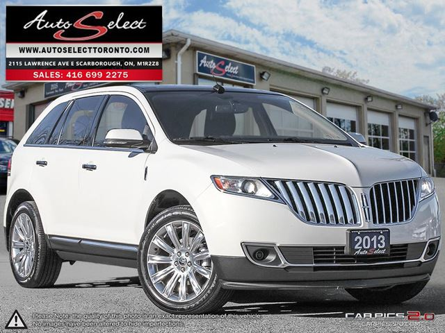 2013 LINCOLN MKX AWD ONLY 67K! **TECHNOLOGY PKG** CLEAN CARPROOF in Scarborough, Ontario