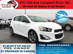 2016 Chevrolet Sonic RS in Campbell River, British Columbia