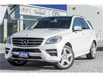 2014 Mercedes-Benz M-Class ML350 Bluetec 4MATIC Leather,Panoramic roof,Alloys,Navi in Mississauga, Ontario