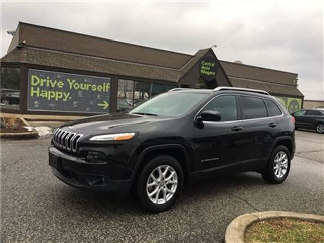 2016 JEEP CHEROKEE North /4X4 / BLUETOOTH / ALLOY RIMS / USB in Fonthill, Ontario