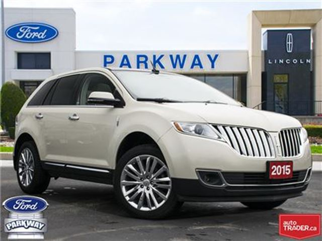 2015 LINCOLN MKX AWD  ACCIDENT FREE  LOW KILOMETERS!  $277 BIWEEKLY in Waterloo, Ontario