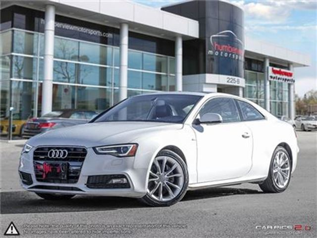 2016 AUDI A5 S-LINE   AWD   CAR-PROOF CLEAN   NAVI in Mississauga, Ontario