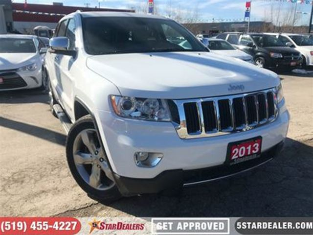 2013 JEEP GRAND CHEROKEE Limited   LEATHER   ROOF   NAV   4X4 in London, Ontario