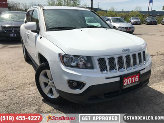 2016 JEEP COMPASS High Altitude   LEATHER   ROOF   4WD in London, Ontario