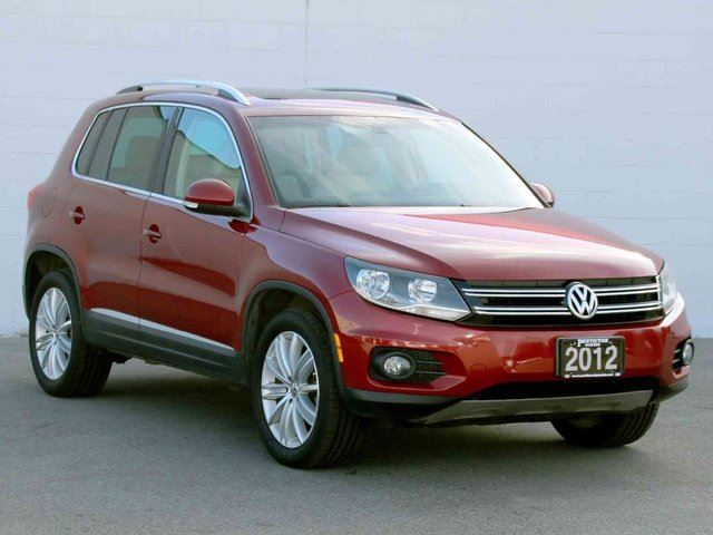 2012 VOLKSWAGEN TIGUAN Highline 4MOTION in Kelowna, British Columbia