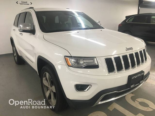 2014 JEEP GRAND CHEROKEE 4WD 4dr Limited FULLY LOADED in Vancouver, British Columbia