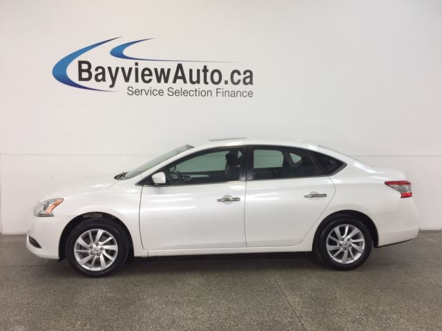 2014 NISSAN SENTRA SV- ALLOYS|ROOF|HTD STS|REV CAM|BOSE|CRUISE! in Belleville, Ontario