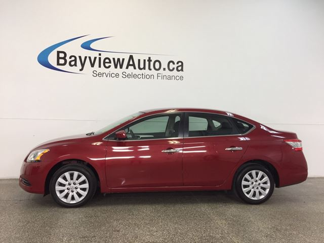 2014 NISSAN SENTRA S- PUSH BTN STRT|ECO MODE|BLUETOOTH|CRUISE|A/C! in Belleville, Ontario