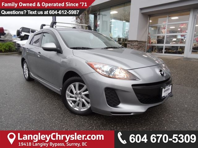 2012 MAZDA MAZDA3 GS *LOCALLY OWNED*DEALER INSPECTED* in Surrey, British Columbia