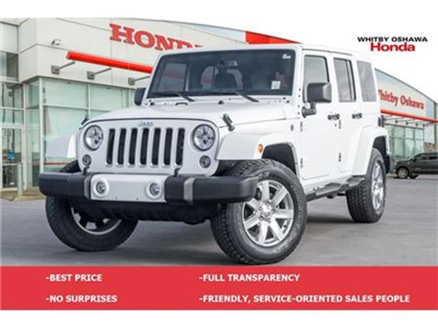 2016 JEEP WRANGLER Unlimited Sahara   Automatic in Whitby, Ontario