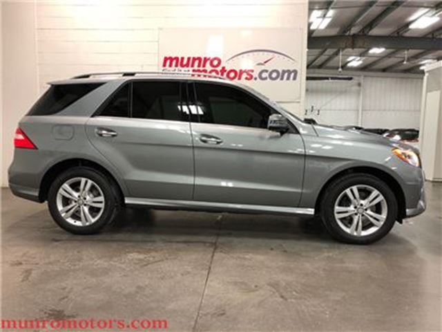 2015 MERCEDES-BENZ M-CLASS ML350 BlueTEC 4MATIC Warranty in St George Brant, Ontario
