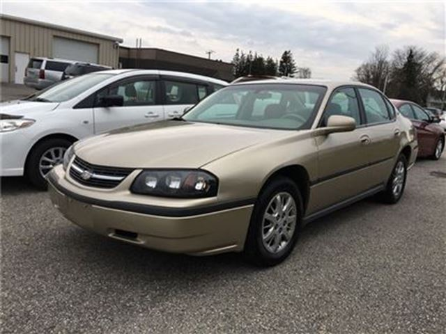 2005 Chevrolet Impala LS /  / - CERTIFY YOURSELF $ SAVE $$$$$ in Fonthill, Ontario